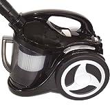 H.Koenig TC80 Bagless Vacuum Cleaner, Black