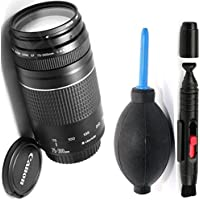 Canon 75-300mm III Zoom Lens + Deluxe Lens Cleaning Pen + Deluxe Lens Blower Brush