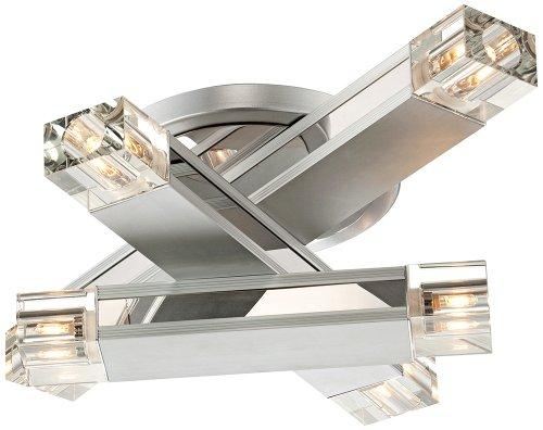 Possini Euro Design Three Stacked Rods Ceiling Light Fixture Possini Euro 3 Light
