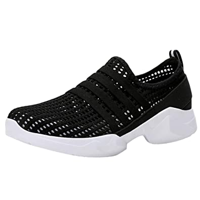 fb43fcd8f4 Anglewolf Men Women Running Shoes Air Trainers Fitness Casual Sports ...