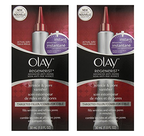 (PACK of 2) Olay Regenerist INSTANT FIX Wrinkle & Pore VANISHER, 1.0 Fl Oz (30ml) - SEALED
