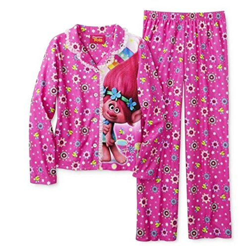 Dreamworks Trolls Girls Pajamas Flannel product image