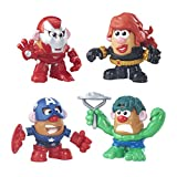 Mr. Potato Head Marvel Mashups Dual Gender 4 Pack