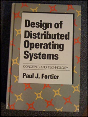 Distributed Operating Systems Concepts And Design Pdf