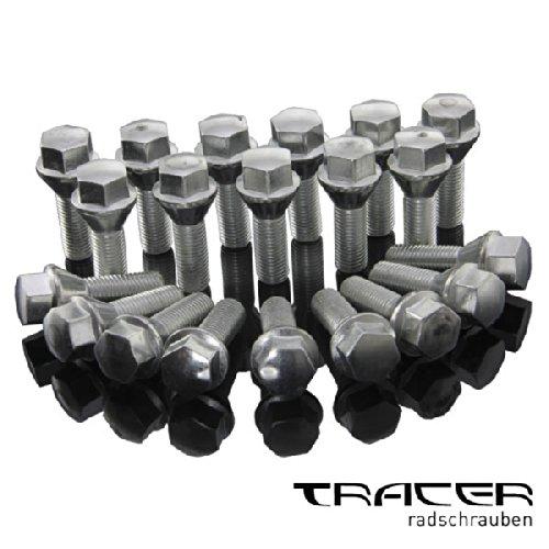 Tracer 20 Alfa MiTo Radschrauben M12x1,25 Schraube 28mm Kegelbund