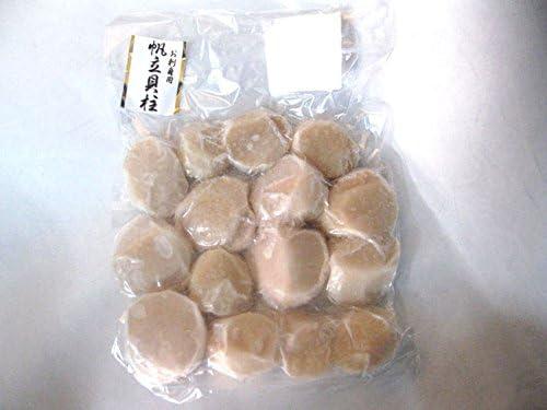 特大ジャンボサイズ 超肉厚 ほたて貝柱 刺身用 500g (10-15個) 北海道産帆立 肉厚ジューシーホタテ