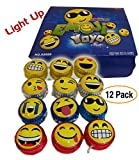 Best YoYo For Kids - 12 pack – Emoji | Emoticon Light-Up YOYOs Review