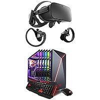 Oculus Rift + Touch Virtual Reality System and iBuyPower i7-7700K, GeForce GTX 1070 8GB, 16GB DDR4, 240GB SSD + 1TB HDD  Chimera AM900Z Tower Desktop Bundle