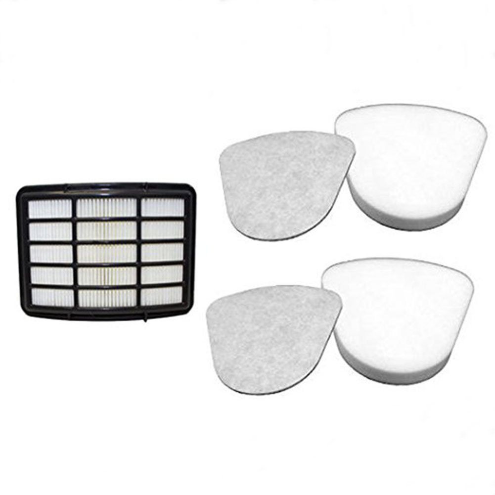 BoLu Vacuum Cleaner Filters, 2 Foam and Felt Pre-Filter Replacement Kits and 1 Hepa Filter for Shark Navigator Lift-away NV350, NV351, NV352, NV355, NV356, NV356E, NV357