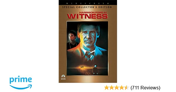 Amazon com: Witness (Special Collector's Widescreen Edition