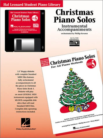 Christmas Piano Solos - Level 5 - GM Disk: Hal Leonard Student Piano Library