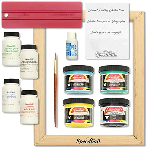 Speedball Glo 'n Dark Screen Printing Kit by Speedball