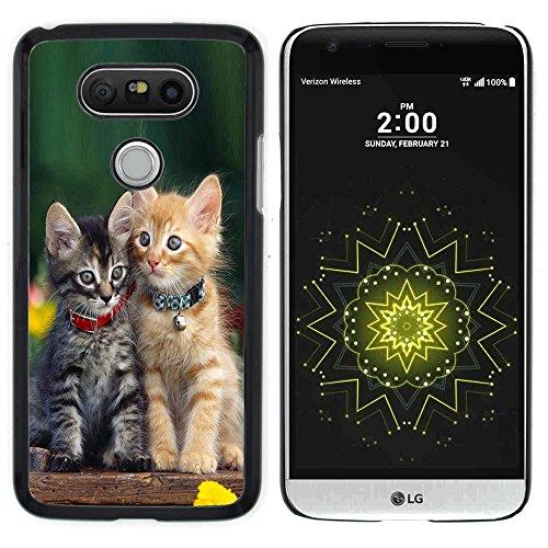 STPlus Gato en una caja Animal Carcasa Funda Rigida Para LG G5 #14