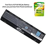 Powerwarehouse Toshiba Satellite L875D-S7332 Laptop Battery - Genuine Toshiba Battery 6 Cell