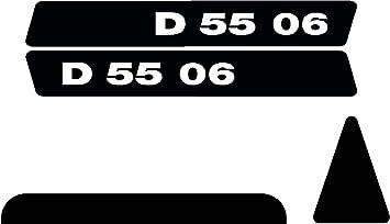 Deutz 3006 Aufkleber Emblem Sticker Haubenaufkleber Schriftzug Silber