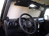 The Original Auto Sunshade, Custom-Fit for Jeep Wrangler SUV 2007-2018 Sunshield