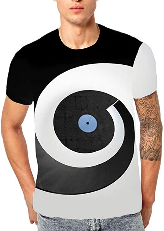 Camiseta de manga corta unisex con diseño informal 3D para hombre ...