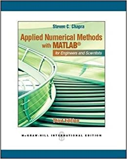 Applied Numerical Methods With Matlab For Engineers And Scientists Ebook Rar