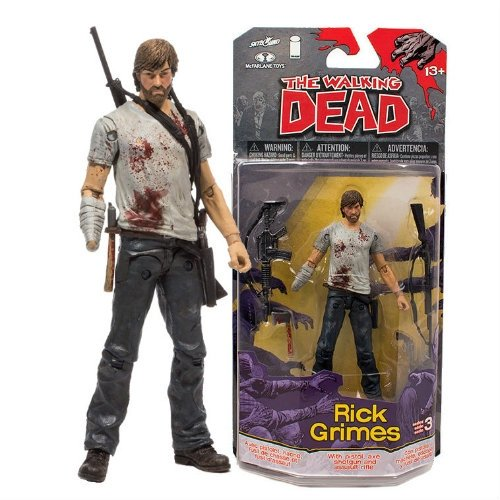 Comic Series Figure - McFarlane Toys The Walking Dead Comic Series 3 Rick Grimes Figure