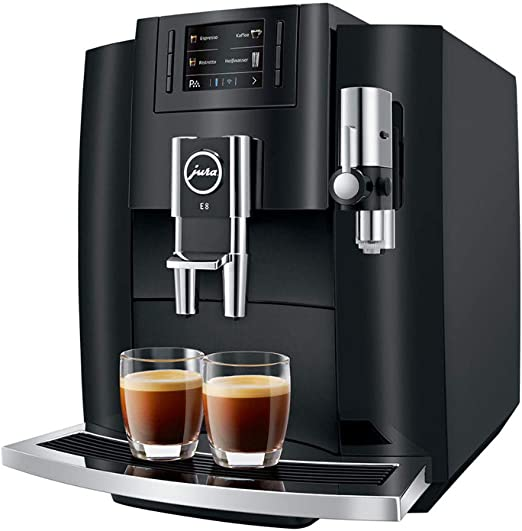 Amazon.com: Jura E8 Automatic Coffee Machine 15270, Piano ...