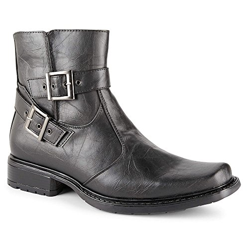 Square Toe Harness Boots - 1