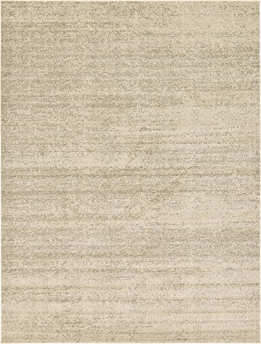Over-dyed Modern Vintage Rugs Beige 9' x 12' FT Palma Collection Area Rug - Perfect for any Place (Outdoor Furniture Luxury Designer)