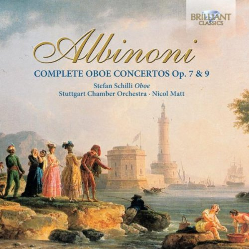 Concerto a cinque in D Minor for Solo Oboe and Strings, Op. 9 No. 2: II. Adagio