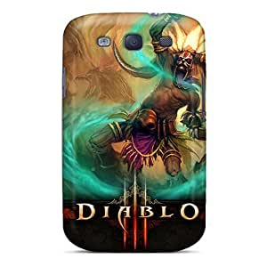 Fashion Tpu Case For Galaxy S3- Diablo 3 Witch Doctor Defender Case Cover