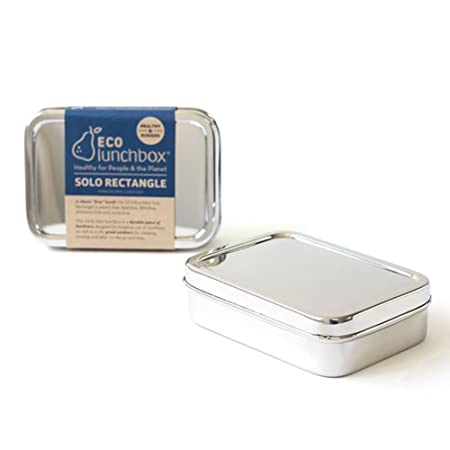 ECOlunchbox Stainless Steel Lunchbox Container: Solo Rectangle ...