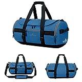 Women Travel Backpack,Businda Gym Soccer Training Mountain Handbag Duffle Bag with Adjustable Strap Storage Tote for Men Women,Dark Blue