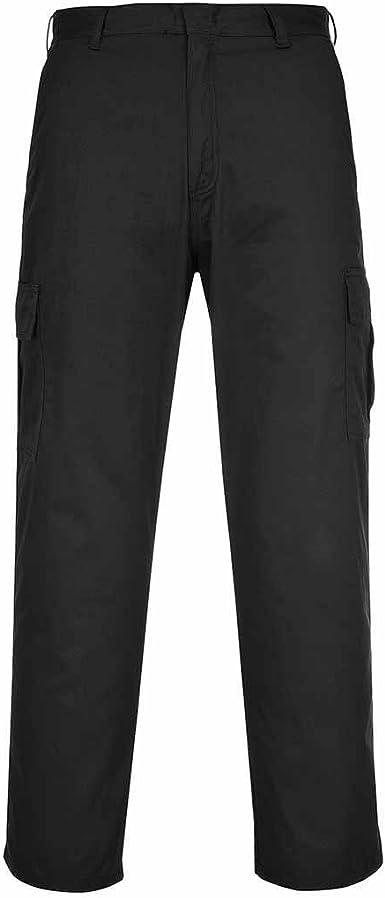 Battle dress uniform Classique Pantalon bleu marine Poly coton Homme