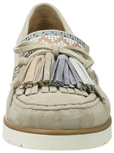 Gabor Shoes Fashion, Mocasines para Mujer Beige (beige kombi 16)