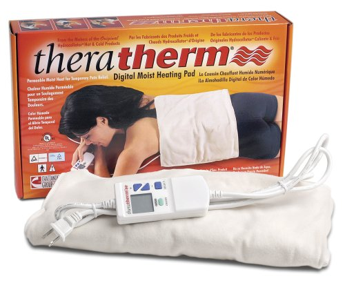 [Chattanooga Theratherm Automatic Moist Heat Pack, Small/7 x 15-Inch] (Moist Heat Pack Cover)