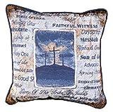 ''His Holy Name'' Religious Accent Throw Pillow 17'' x 17''
