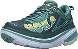 HOKA ONE ONE Women's Bondi 4 Running Shoes - DeepTeal/Meadowbrook (6.5)