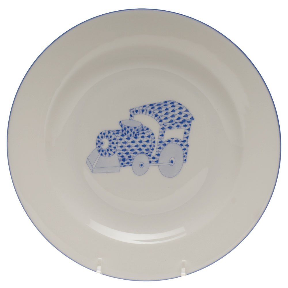 Herend Child Feeding Bowl with Train