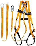 Titan ReadyWorker Fall Protection Kit with Harness, Lanyard & Cross-Arm Connector, Universal Size-Large/XL