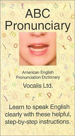 ผลการค้นหารูปภาพสำหรับ ABC Pronunciary : American English Pronunciation Dictionary