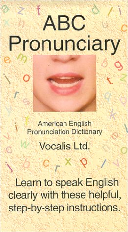 ABC Pronunciary, American English Pronunciation Dictionary [VHS] -