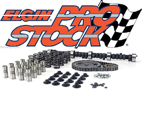 Chevy 350 Cams (Chevy 283 327 350 400 Ultimate Cam+Lifters+Springs+Retainers+Locks Kit 375HP (Timing Change Kit))