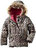 Amy Byer Outerwear Little Girls'  All Over Leopard Print Jacket