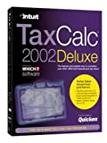 TaxCalc 2002 Deluxe (Partnership Returns, free 3 months subscription to What? Investment, Guide to Saving Tax)