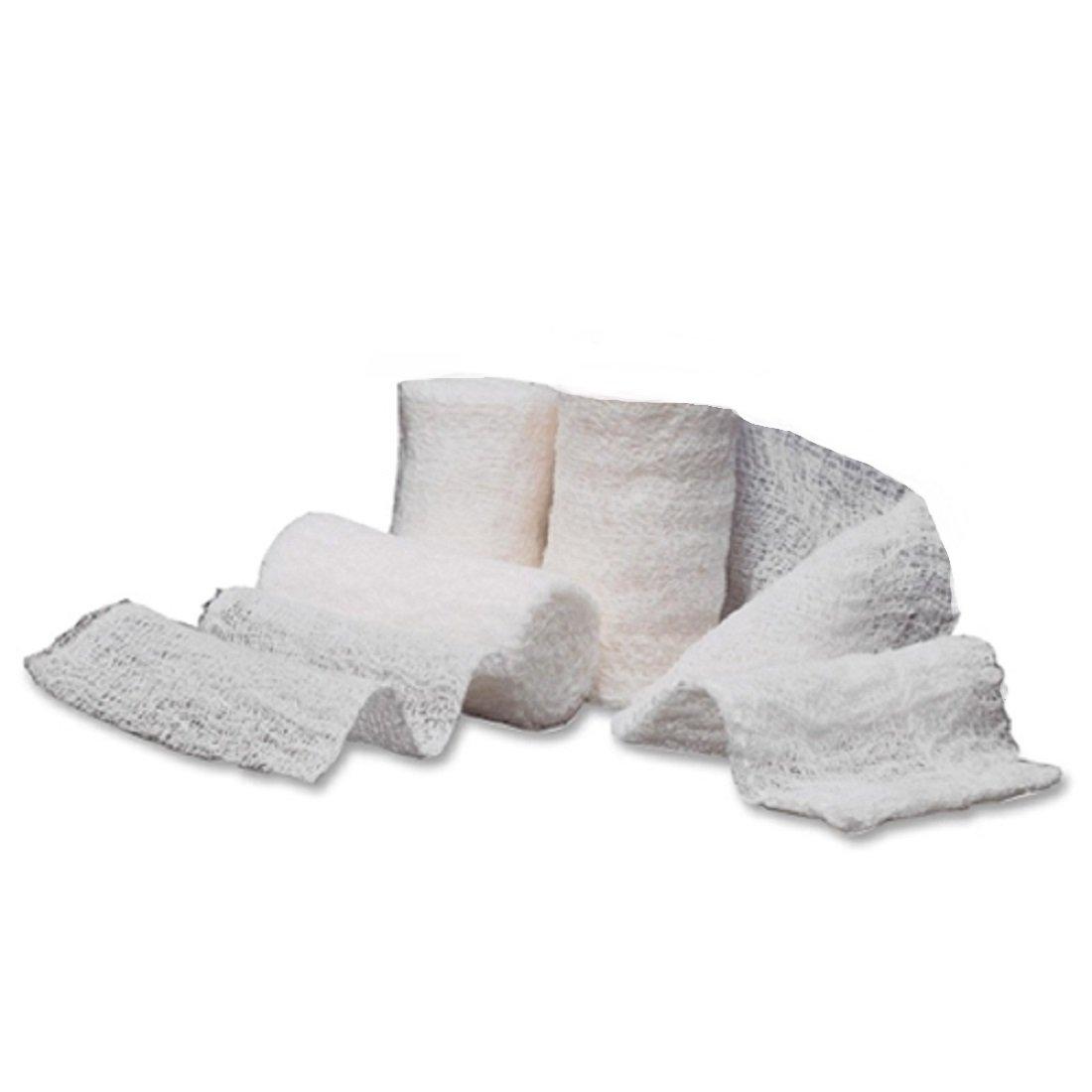 McKesson Performance Roll Gauze Bandage Non Sterile Gauze 4.5'' - Case of 100 - Model 30642000 by McKesson Brands