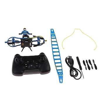 sharprepublic 2.4G Mini Flying Skateboard Skater Shape Drone Toys ...