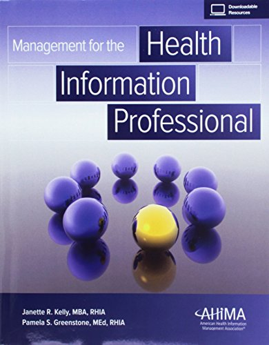 1584265078 - Management for the Health Information Professional