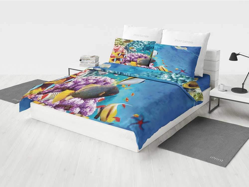 Amazoncom KaithLong Ocean Kids Bedding Set Clear