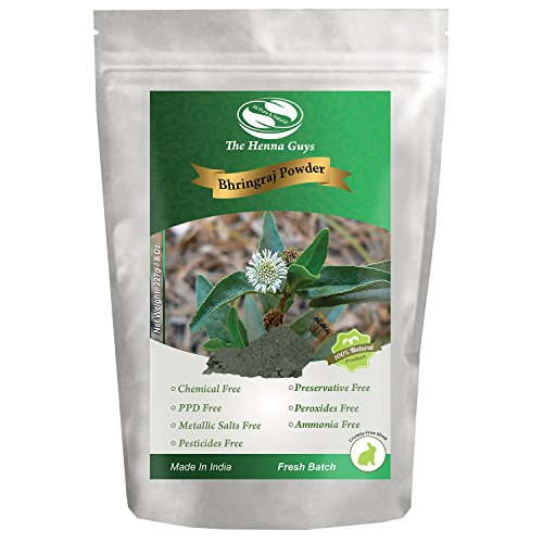 227 Grams / 0.5 LB / 08 Oz Bhringraj Powder / Eclipta Alba, 100% Pure & natural. Food grade hair conditioning and supplements.