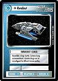 STAR TREK CCG 1E PREMIER LIMITED (B BORDER) RUNABOUT 330C
