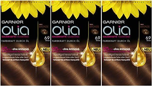 Garnier Olia 6.9 - Tinte colorante permanente para el cabello ...
