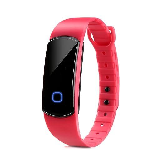 Diggro SH08 - Adjustable Impermeable Smartwatch Reloj de Pulsera Deportiva (Bluetooth, IP67, Podometro, Calorias, Monitor de Sueño, Super Largo Tiempo ...